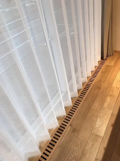 床下エアコン用のガラリ