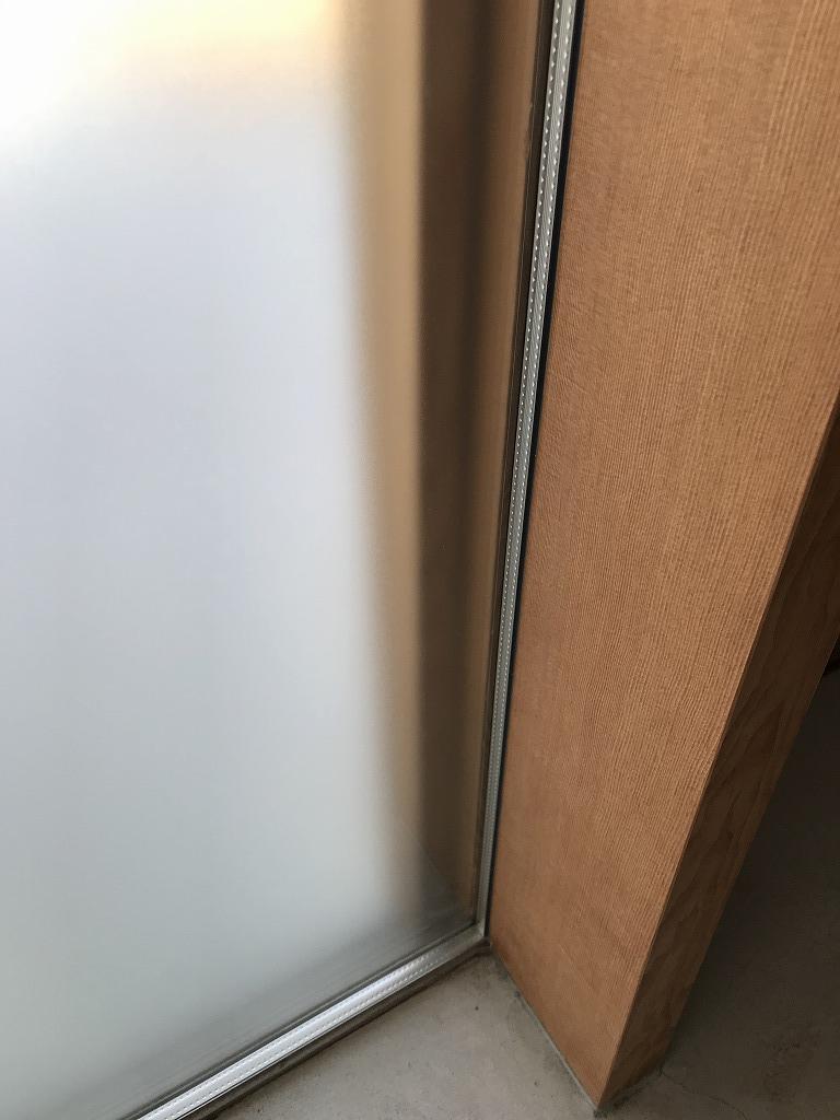 玄関のペアガラス