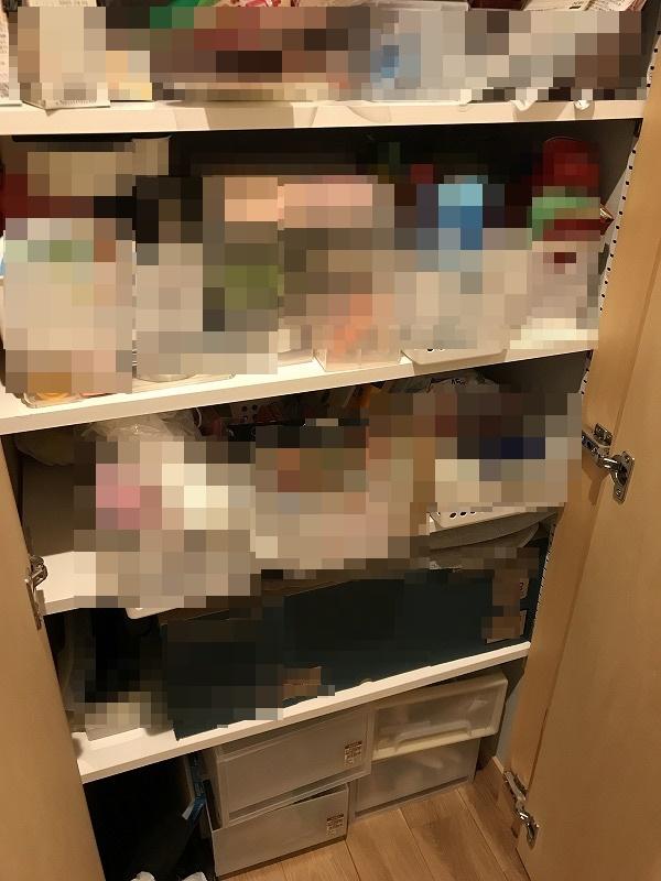 パントリーの棚(2)