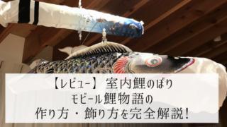 室内 鯉のぼり
