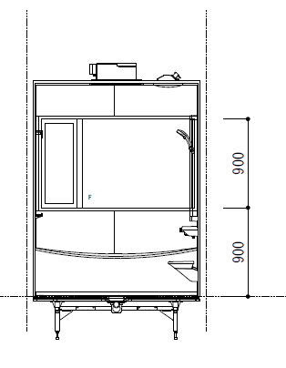 浴室の展開図