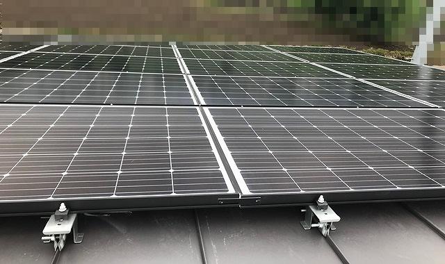 太陽功発電パネル