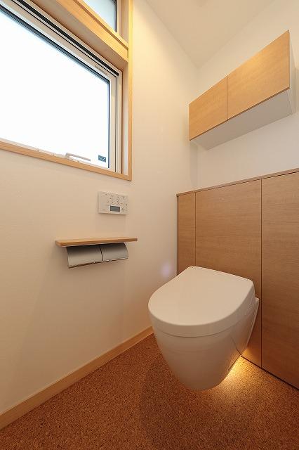 トイレの写真(TOTOレストパルF)