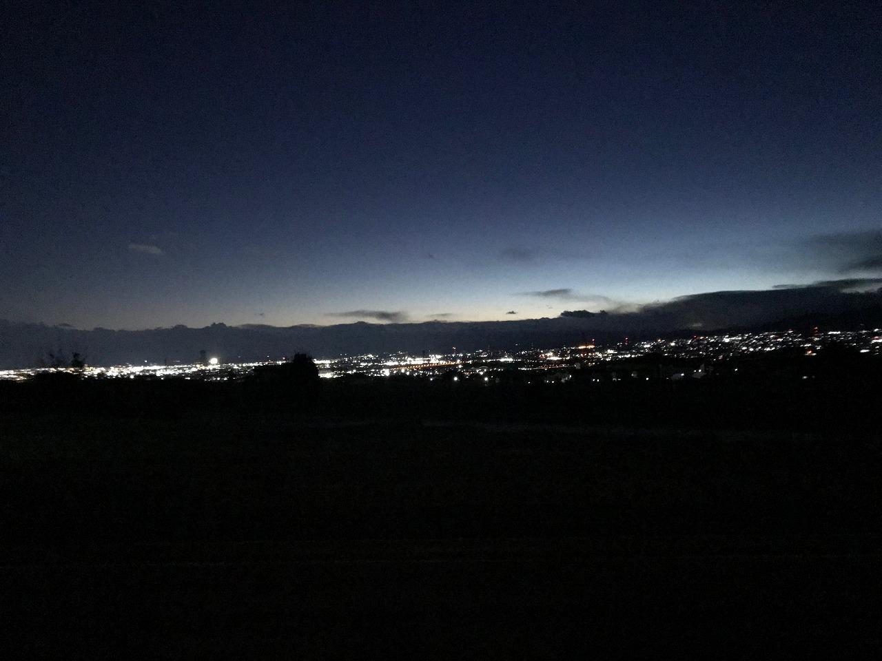 LDKから見える夜景