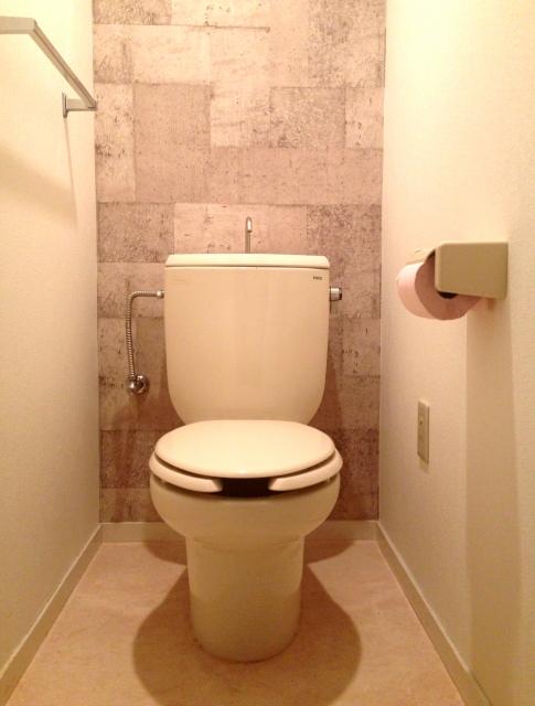 便座ヒーターのないシンプルなトイレ