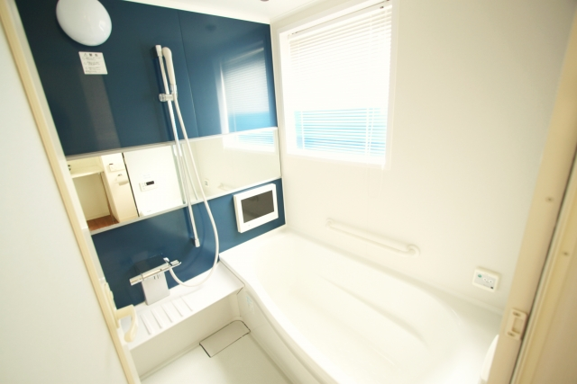 フルオプションの浴室