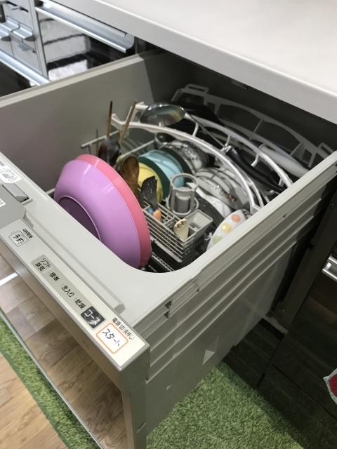 引き出し式食洗機の写真