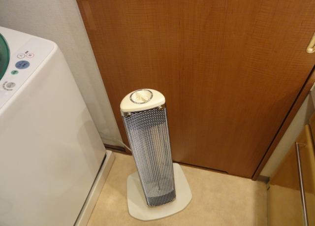 脱衣所の暖房器具