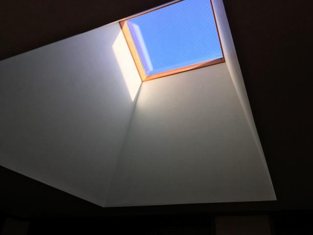階段の天窓