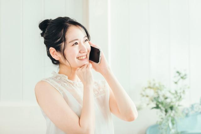 電話で家づくりの要望を伝える