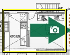 大和ハウスの平屋「xevoGranWood 奏でる家」のロフト収納の間取り図