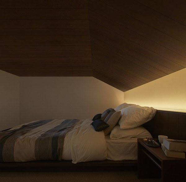 大和ハウスの平屋「xevoGranWood 奏でる家」のロフト収納の寝室