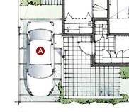 積水ハウスさんの平屋住宅「平屋の季(とき)」の駐車場