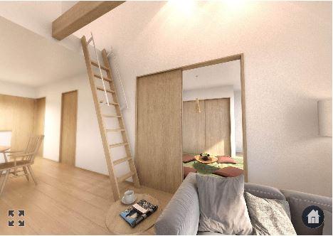 カーザロボティクスさんの平屋「IKI」の和室