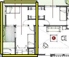 積水ハウスさんの平屋住宅「平屋の季(とき)」の個室1,2