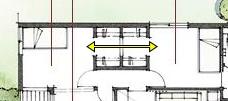 積水ハウスさんの平屋住宅「平屋の季(とき)」のウォークスルークローゼット