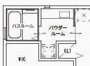 ジブンハウスさんの平屋住宅「1211F SCANDIA」のパウダールーム