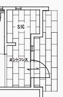ジブンハウスさんの平屋住宅「1211F SCANDIA」のシューズインクローゼットの間取り