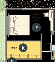 トヨタホームさんの平屋住宅「シンセ・スマートステージプラス(平屋)」の主寝室
