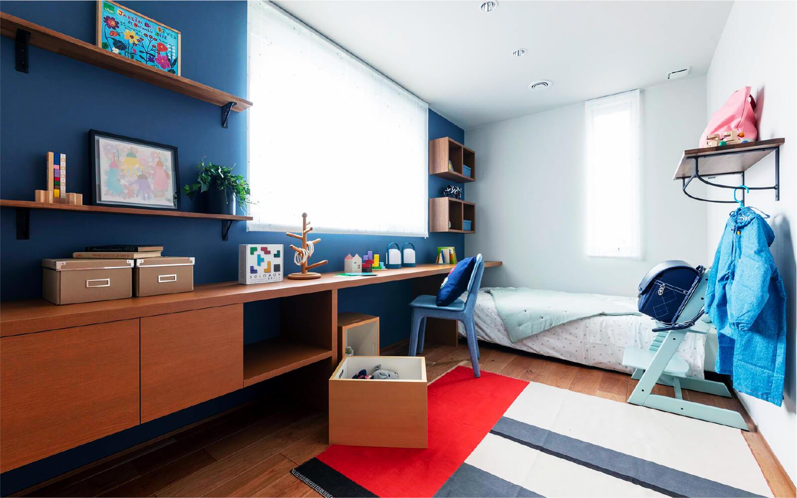 トヨタホームさんの平屋住宅「シンセ・スマートステージプラス(平屋)」の子ども部屋の写真